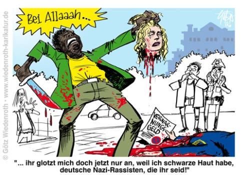 PK150925_Asyl_Islam_Migrantengewalt_Rassismus_Verdacht