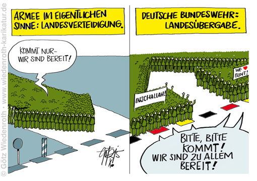 PK151001_Asyl_Immigration_Bundeswehr_Invasion_Islam